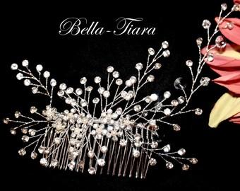 SPECIAL!! Crystal wedding hair comb, bridal crystal hair vine,  crystal spray, wedding hair vine, wedding hair comb, bridal hair comb