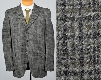 Harris tweed jacket | Etsy