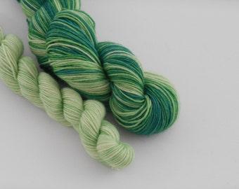 LOVE SOCK self-striping, 007, merino nylon sock yarn,100g