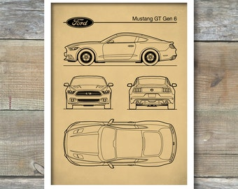 Patent print ford shelby cobra blueprint 427s shelby cobra patent print auto art ford mustang blueprint car art muscle car malvernweather Image collections