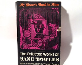 Vintage 1978 'The Collected Works of Jane Bowles' Edited by Truman Capote, Collectible Paperback Ecco Edition