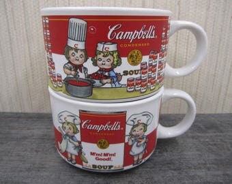 Campbell Soup Mugs/Bowls by Westwood