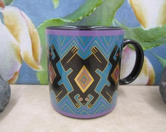 "Laurel Burch ""Folkloric Frogs"" Mug"
