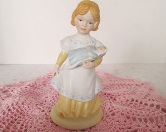 "Avon Figurine ""A Mothers Love""; 1981, A Mother Holding Her Baby, Handcrafted, Collectible Avon Figurine,"