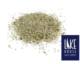 Finely Crushed Seashells 2 lb. Decorative Sand, Fine 2 lbs. Medium Crushed Seashells.