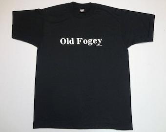 Old Fogey T-Shirt Vintage 1980s XL