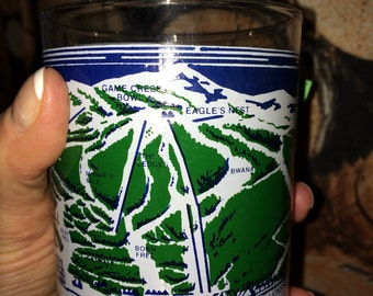 VAIL on the Rocks glass