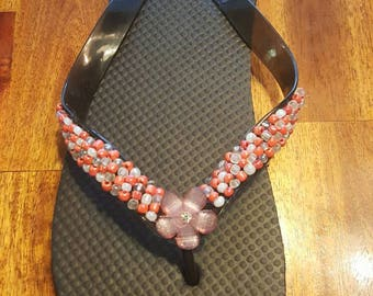 Womens beaded sandals