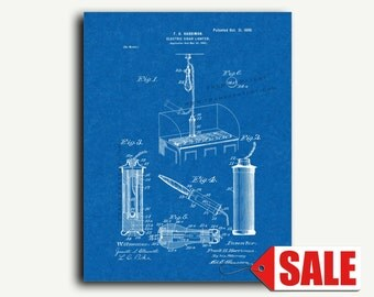 Patent Print - Electric Cigar-lighter Patent Wall Art Poster