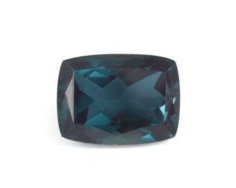 Teal Quartz Triplet Cushion Cut Loose Gemstone 1A Quality 16x12mm TGW 9.70 cts.