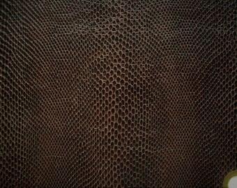 faux snake leather 12x17 raisen
