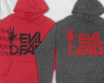 Evil Dead -  Heavy Blend Hooded Sweatshirt - Screenprinted