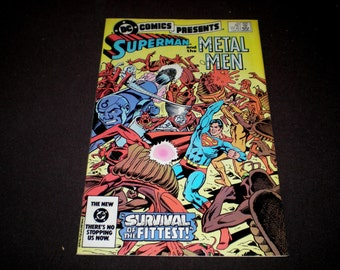 DC Comics Presents 70, (1984), Superman and the Metal Men, DC S2