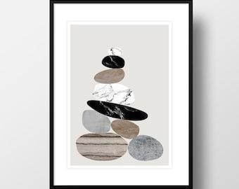 "Artprint ""Stones"""