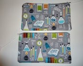 Special Listing - Science Pencil Pouches