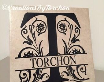 Decorative Name Tile