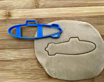 Submarine Cookie Cutter/Multi-Size/Dishwasher Safe Available