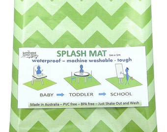 High Chair Mat Etsy