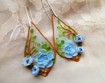 Magical Forest Handmade Polymer clay Earrings