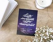 Night Triumphant Mini Art Print