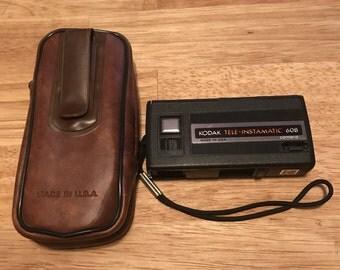 Kodak Tele-Instamatic 608 Camera