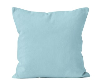 Paradise Blue Pillow Cover, Aqua Pillow Cover, Aqua Throw Pillow Cover, Aqua Blue Toss Pillow, Light Blue Pillow Cover, Beach Aqua Decor