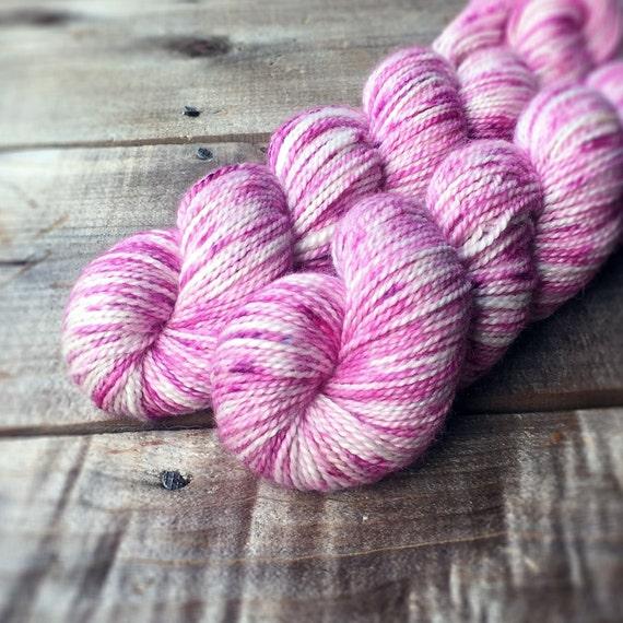 CHERRY TREE alpaca merino silk yarn dk weight, knitting, crochet, wool