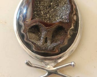 Grateful Dead .925 Sterling Silver pendant