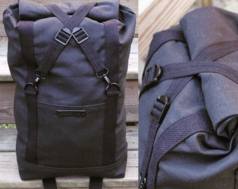 X Roll-Top Backpack