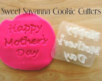 Happy Mothers Day Fondant Embosser
