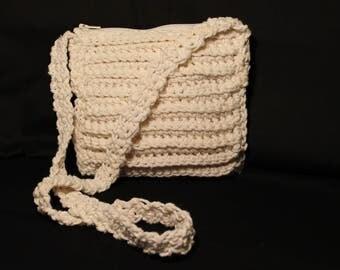 Girls Crochet Shoulder Bag