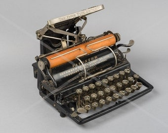 Fine Art Print of a Fitch Typewriter