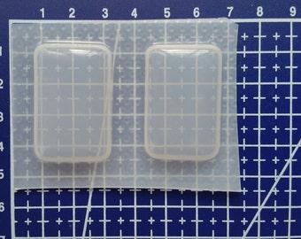 Medium Rectangles Plastic Resin Mold