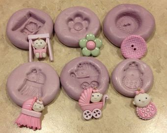 Baby Mixed Set Silicone Molds
