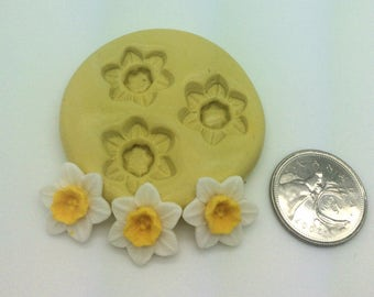 Mini Daffodil Flower Silicone Mold