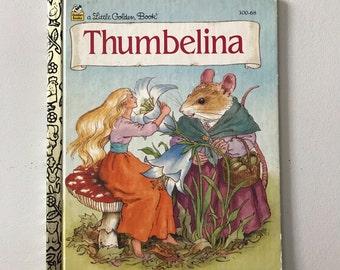 A Little Golden Book - Thumbelina - 1995