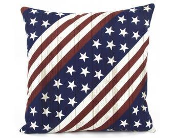 Patriotic pillow Etsy