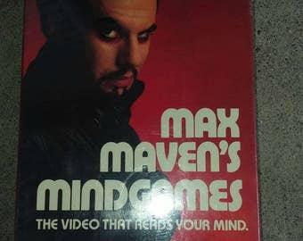 Max mavens mind games vhs new