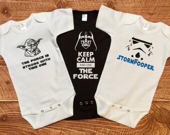Star Wars  inspired bodysuit Pack !