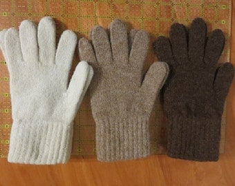 Alpaca Gloves Small