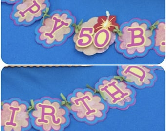 Custom Hand-Crafted Banners
