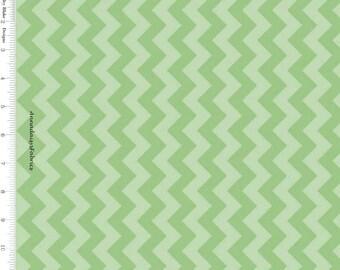 Green Chevron Fabric, Riley Blake C400 31 Small Chevron, St. Patricks, Tone on Tone Green Chevron Quilt Fabric, Green Fabric, Cotton