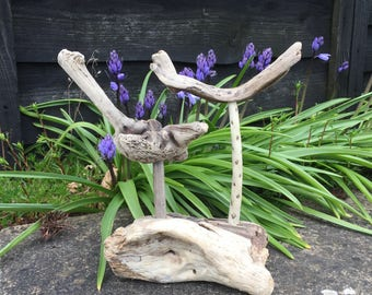 Driftwood Jewellery stand ring tree and bracelet earring holder