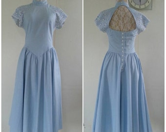 Vintage 1950s Cotton Day Dress.