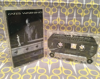 Perfect Symmetry by Fates Warning Cassette Tape rock heavy metal