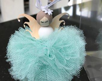 Good Fortune Fairy, newborn baby gift, christening gift, bridesmaid gift, wedding gift, bride gift.
