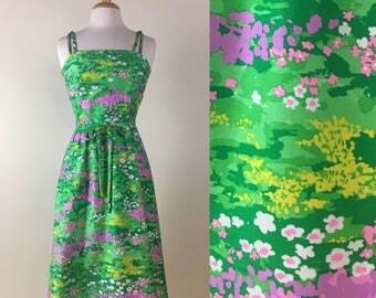 Vintage 60s Malia Honolulu Dress