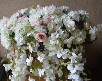 Head Table Decor, Wedding Arch, Chuppah Arch,  Silk Flower Arch, Wedding table backdrop, Silk Flower Backdrop, Silk Wedding Arch