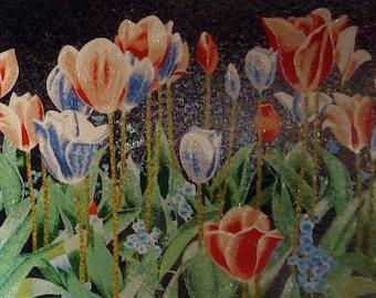 Flower Garden Mosaic Designs