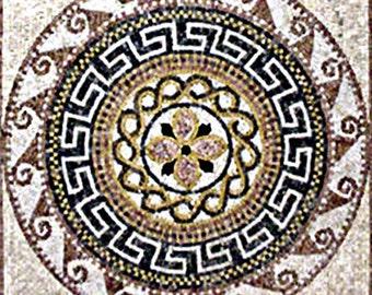 Artisan Greco-Roman Mosaic - Adel